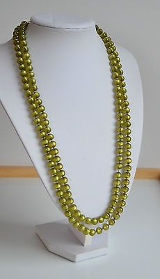art-deco-pea-green-moonglow-lucite-hand-knotted-necklace-54-034-very-long-vintage