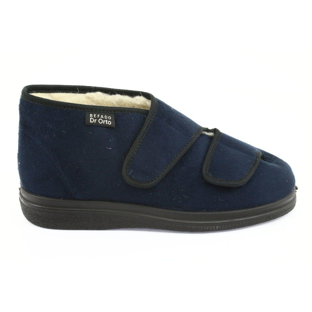 Befado Obuwie Damskie Pu 986m010 Granatowe Shoes Sneakers Fashion