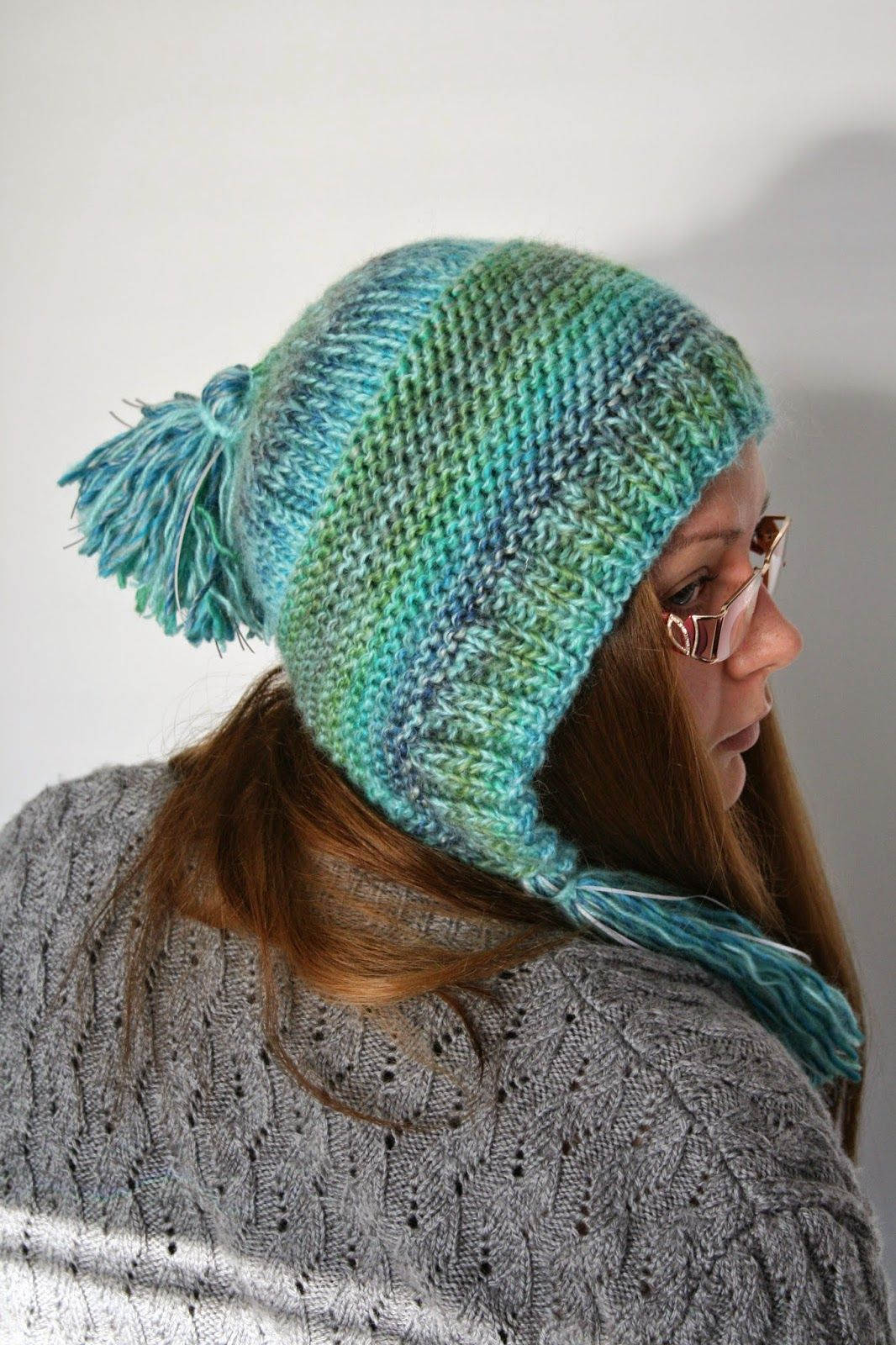 My first Capucine. Made with Ice Yarns Donna & Novita Rose. http://www.ravelry.com/patterns/library/capucine
