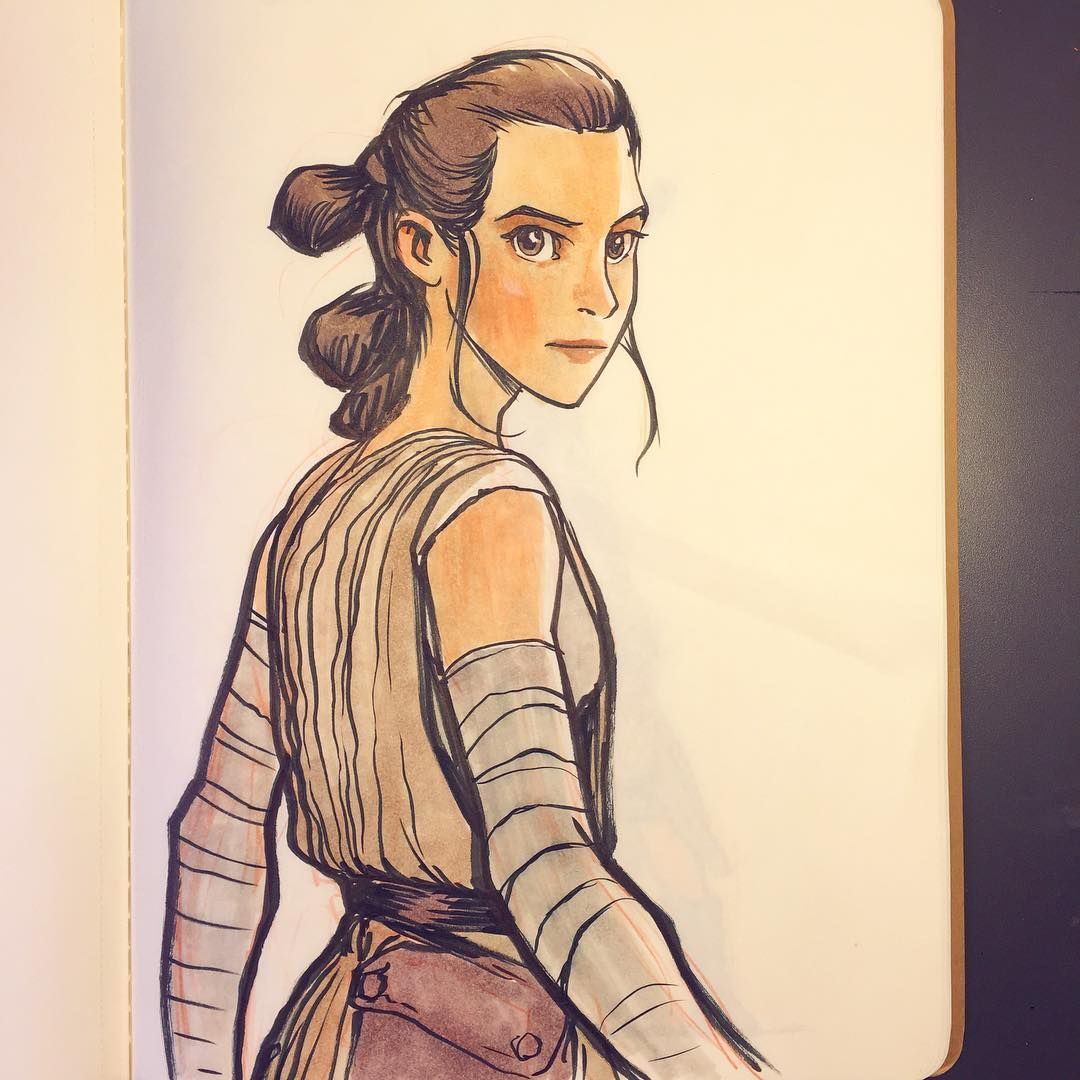 The Scavenger. #Rey