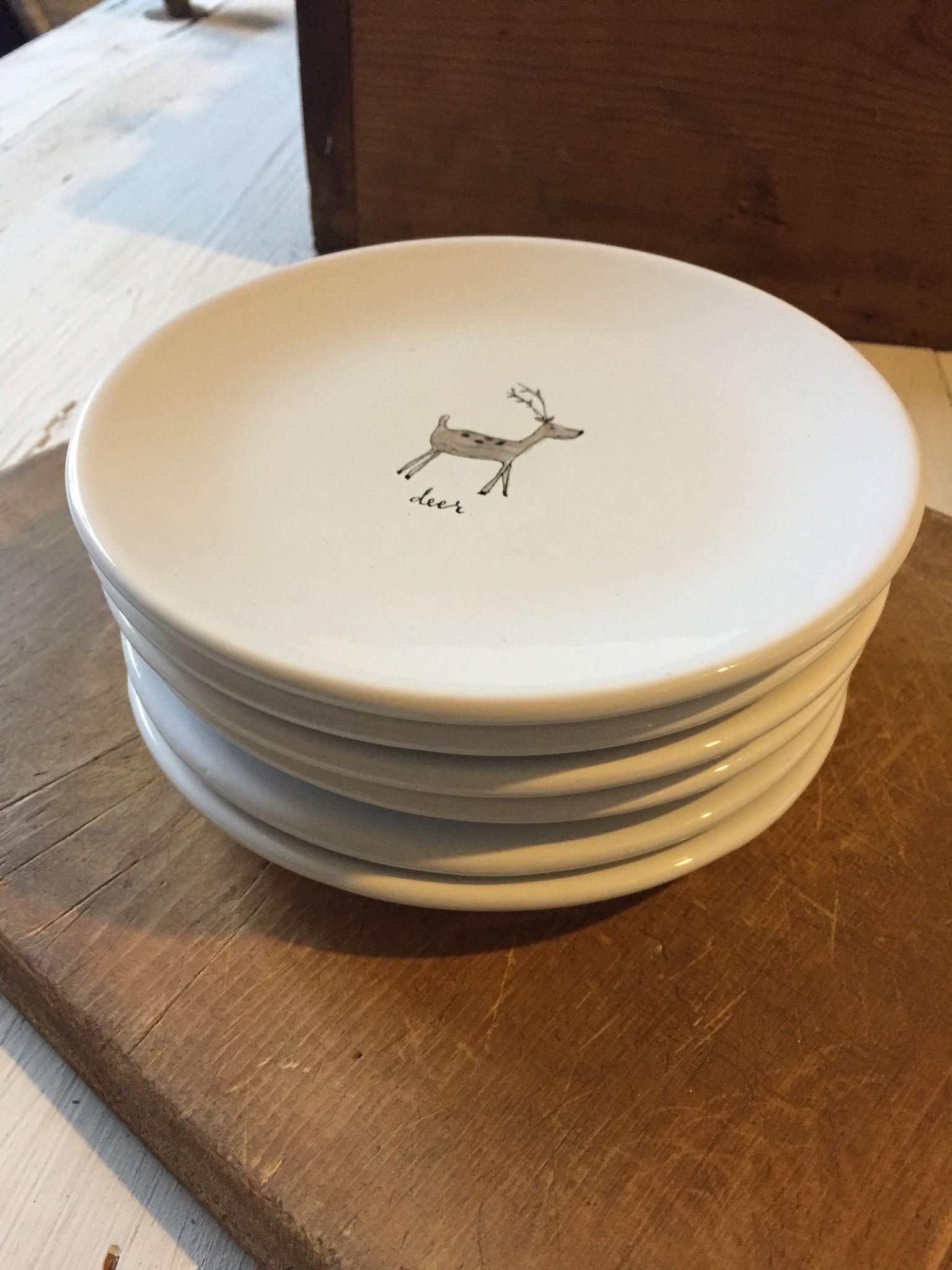 Rae Dunn Christmas Plates Rae Dunn in 2018 Pinterest