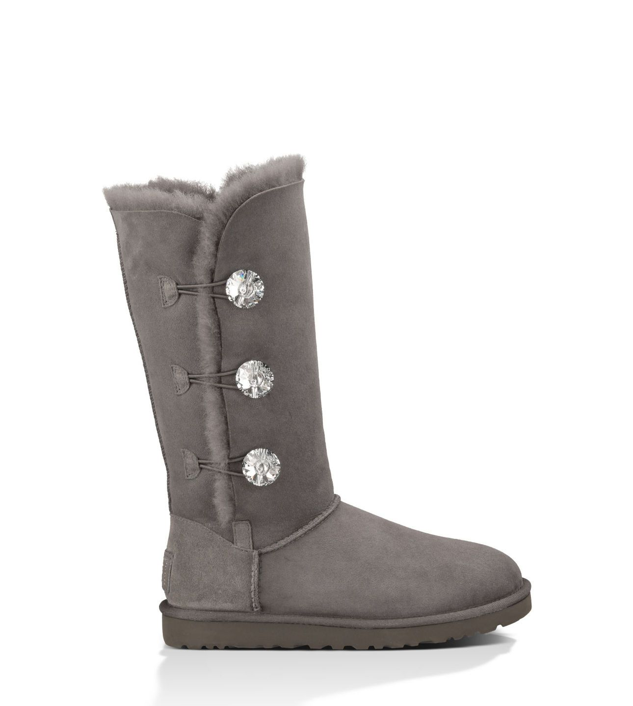fa4bd1bd560 The OFFICIAL UGG® store has the Bailey Button Bling Triplet in the ...