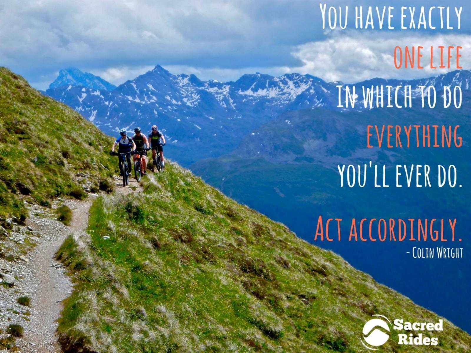 adventure quotes quotes about adventure mountain bike