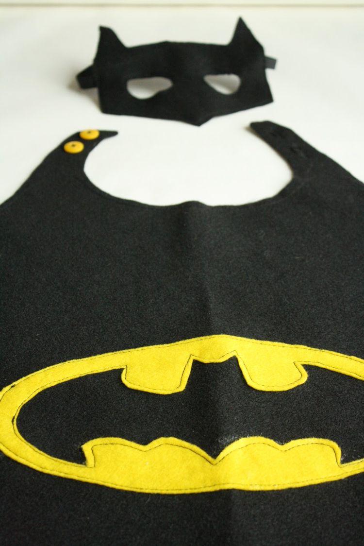 superhelden umhang selber machen batman fasching. Black Bedroom Furniture Sets. Home Design Ideas