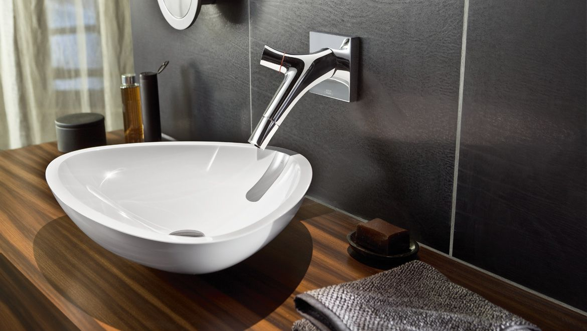 Philippe Starck\'s elegant, ergonomic tap design for Axor | Pinterest ...