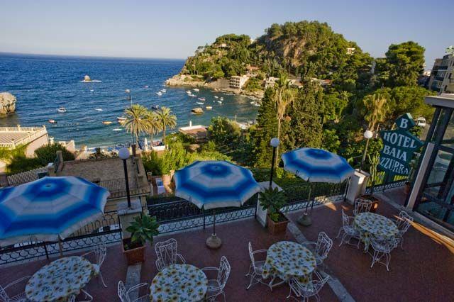 Posizione Alberghi Taormina Mare Hotel Baia Azzurra