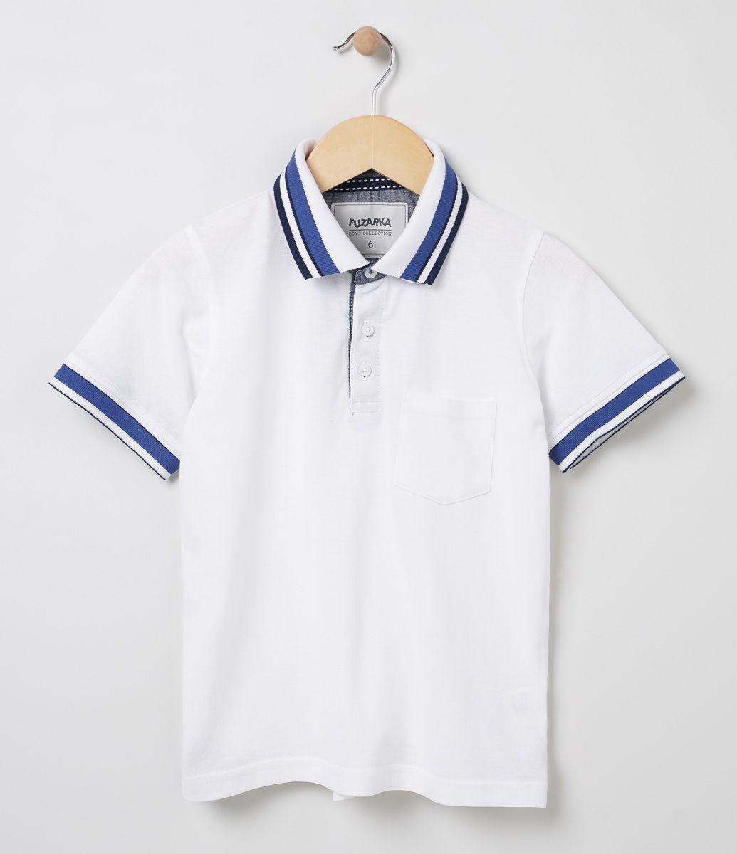 Camiseta infantil Manga curta Polo Marca  Fuzarka Tecido  piquet  Composição  100% algodão 81b14965223