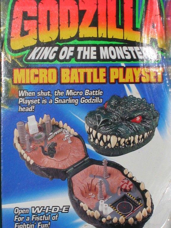 Godzilla 90s Toys
