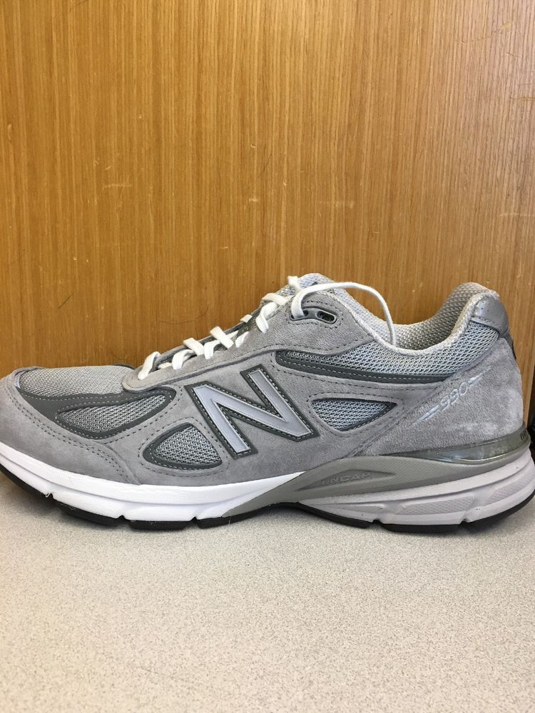 super popular dbce1 25477 M990GL4] Mens New Balance M990 v4 Grey Running Shoe #fashion ...