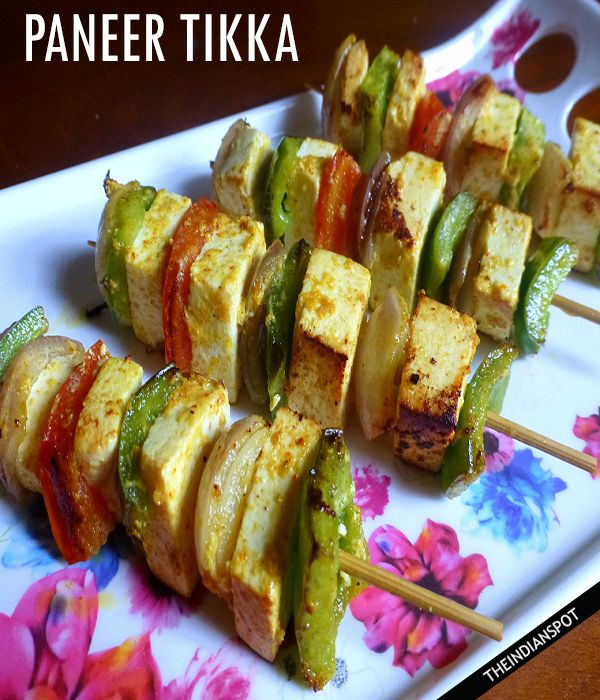 Easy paneer tikka Grilled cottage cheese Recipe