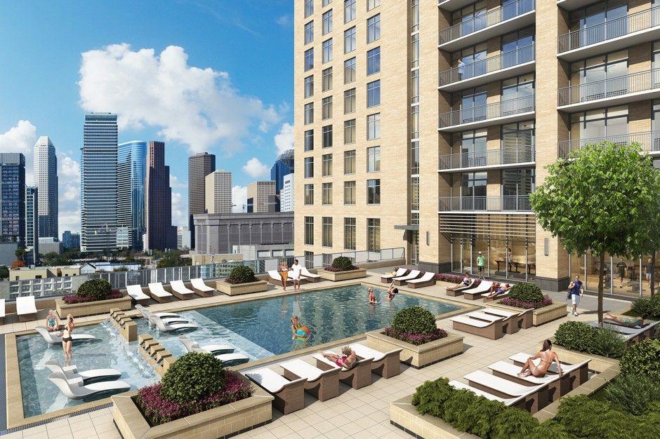 Camden Downtown Downtown Houston Downtown Development Houston Apartment