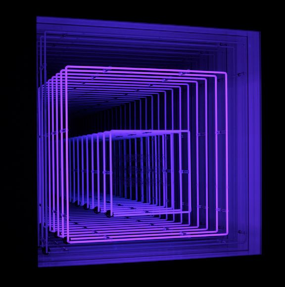 Ivan Navarro #lightartinstallation