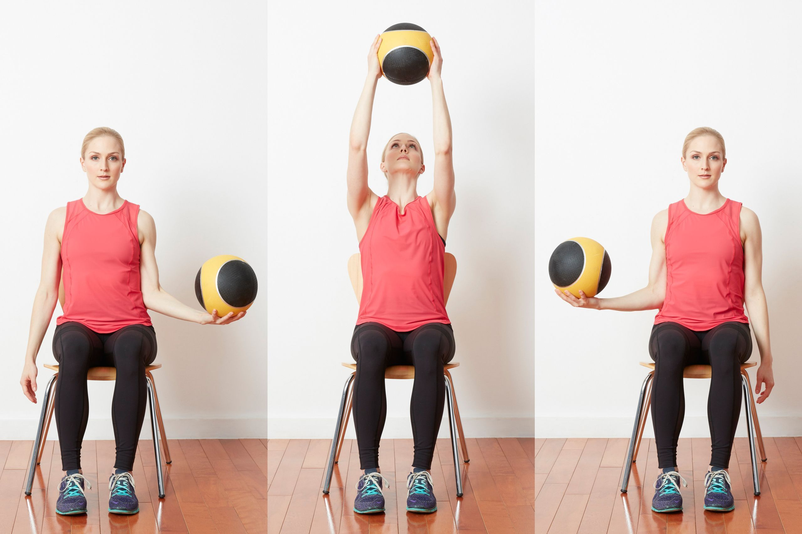 Challenge your core and get an entire upper body workout