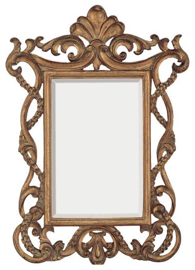 Fleur De Lis Rectangular Mirror
