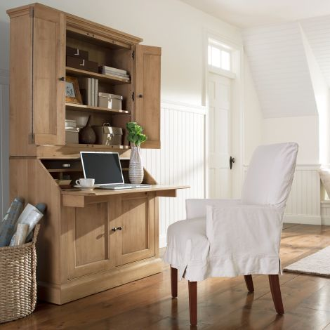 Ethanallen.com   American Artisan Secretary Desk / Upper Cabinet | Ethan  Allen | Furniture