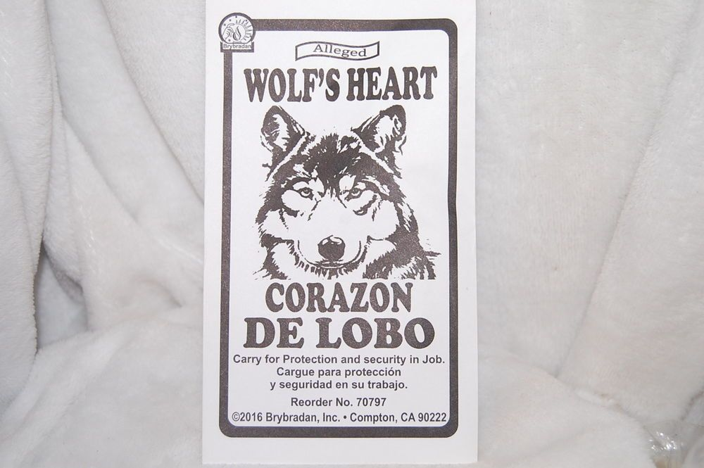 Wolf's Heart - Protects Against Curses, Job Security