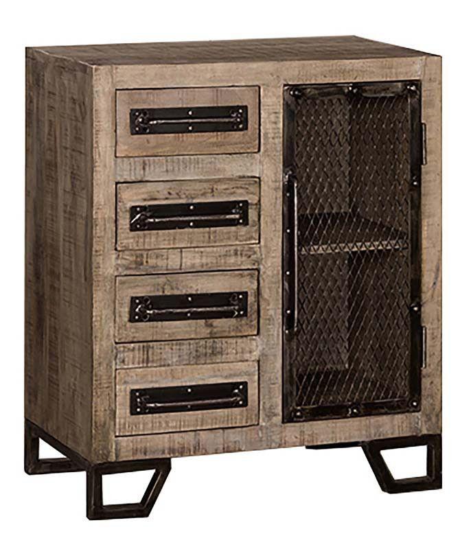 Hillsdale Furniture 5806-896C Bridgewater Cabinet With (4