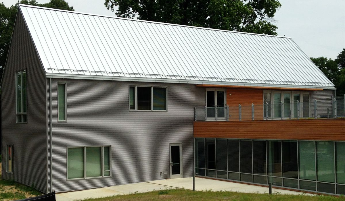 Concealed Clip Standing Seam Metal Roofing Walls And Ceilings From Atas International Inc Corrugated Metal Roof Corrugated Metal Siding Metal Roof Panels