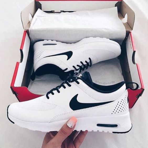 sneakers chaussure nike femme swag photo