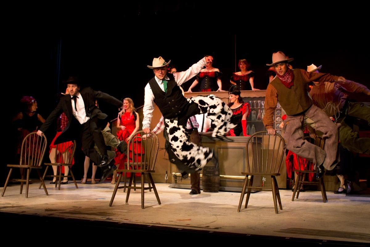 Theater Münster CURTAINS VORHANG AUF FüR MORD Krimi Musical von
