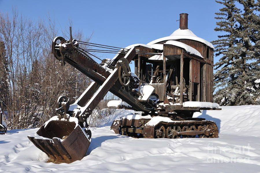 A steam shovel with timeless good looks. | Machinery ...