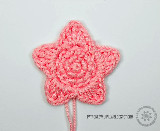 Estrella a Crochet #1 (foto-tutorial) | PATRONES VALHALLA ...