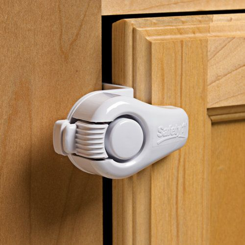 Lazy Susan Cabinet Lock: No children but two inquisitive cats with ...