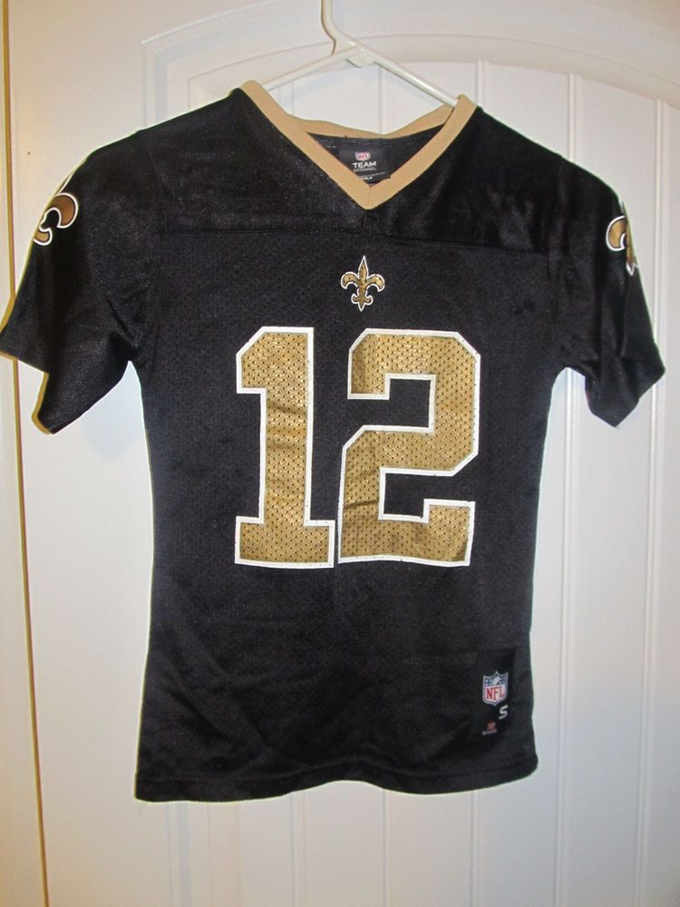 a9bd1818737 Marques Colston - New Orleans Saints jersey - Reebok Youth Small  Reebok   NewOrleansSaints