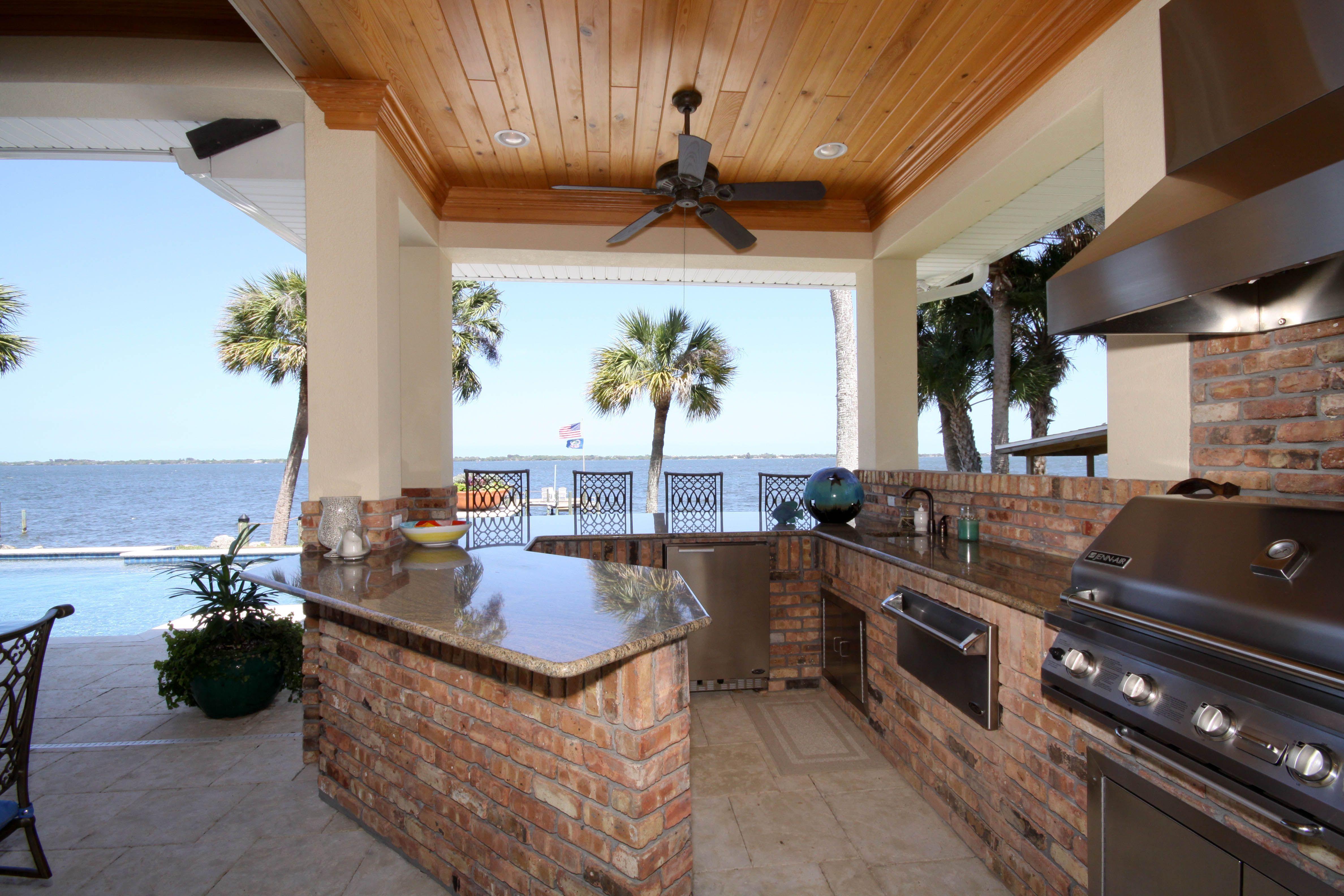Burton Homes Gallery Home, Summer kitchen, Custom homes