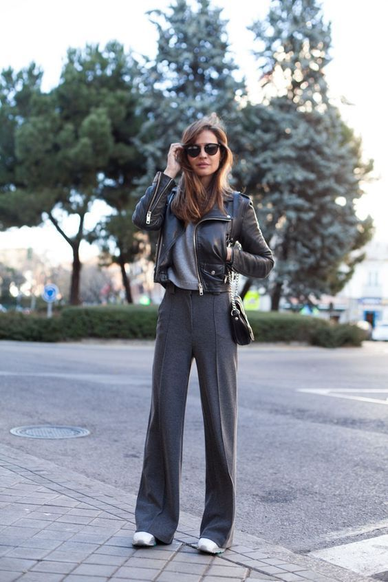 Photo of #widelegpantsoutfits #widelegpants #winteroutfits #widelegpantswinter