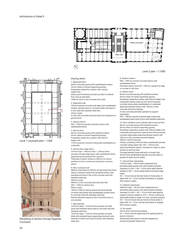 Architecture In Detail Ii Graham Bizley Architecture David Chipperfield Architects Detail