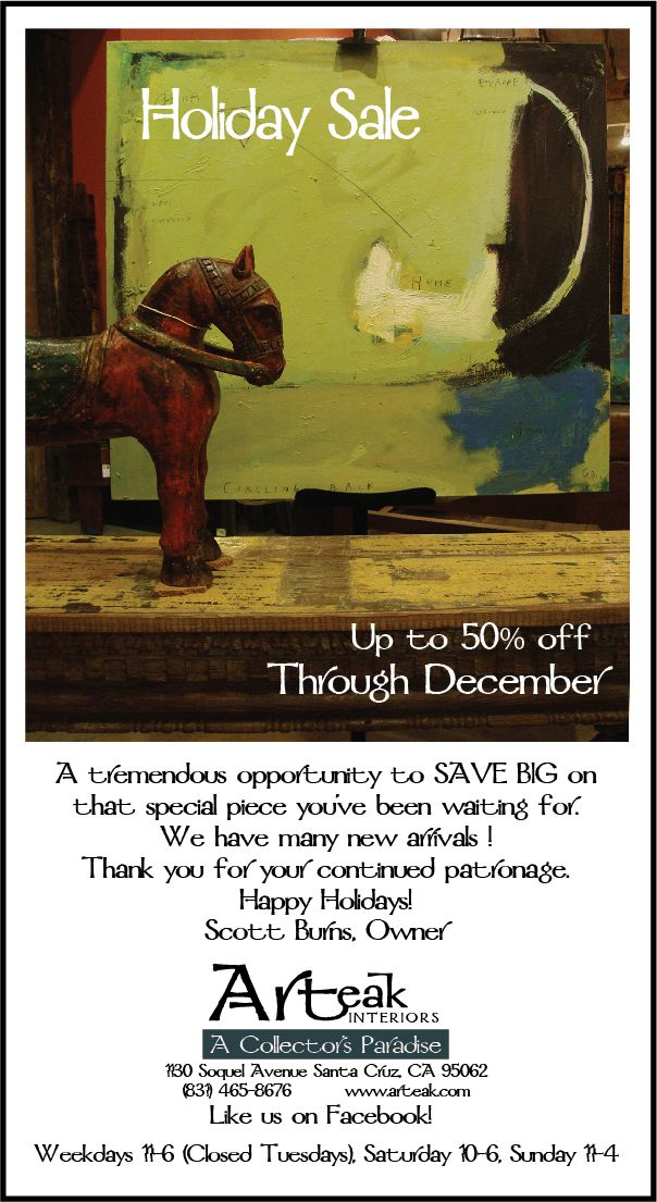 Holiday Sale the whole month of December!
