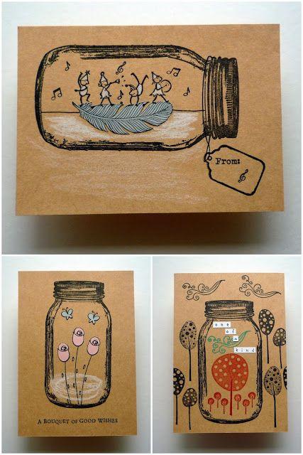 Whimsical Stamper, Happy Emilia: Darkroom Door Mason Jar Frame Stamp. http://www.darkroomdoor.com/frame-stamps/frame-stamp-mason-jar