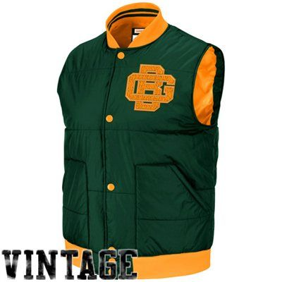reputable site d2586 9d69b Mitchell & Ness Green Bay Packers Free Agent Vintage Vest ...