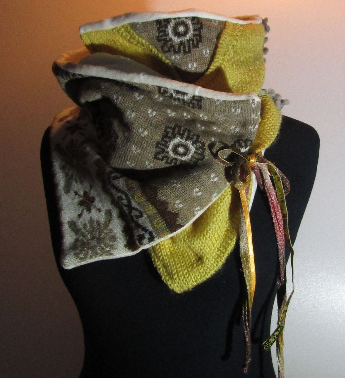 Snood (scarf) artisan creation of the accessories Grege ref ...