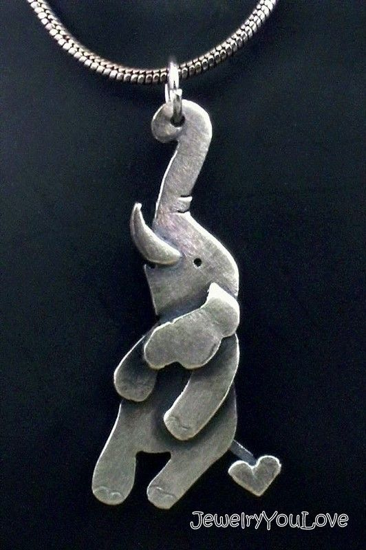 Fashion Animal Necklace Antique Bronze Silver Gold Bird Butterfly Elephant Horse