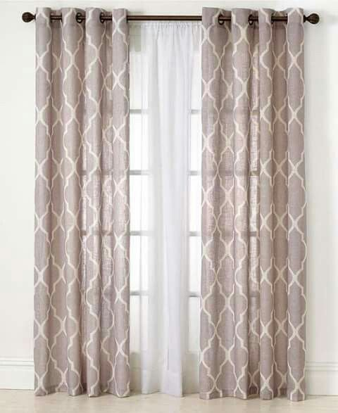 New Curtains for Basement Windows