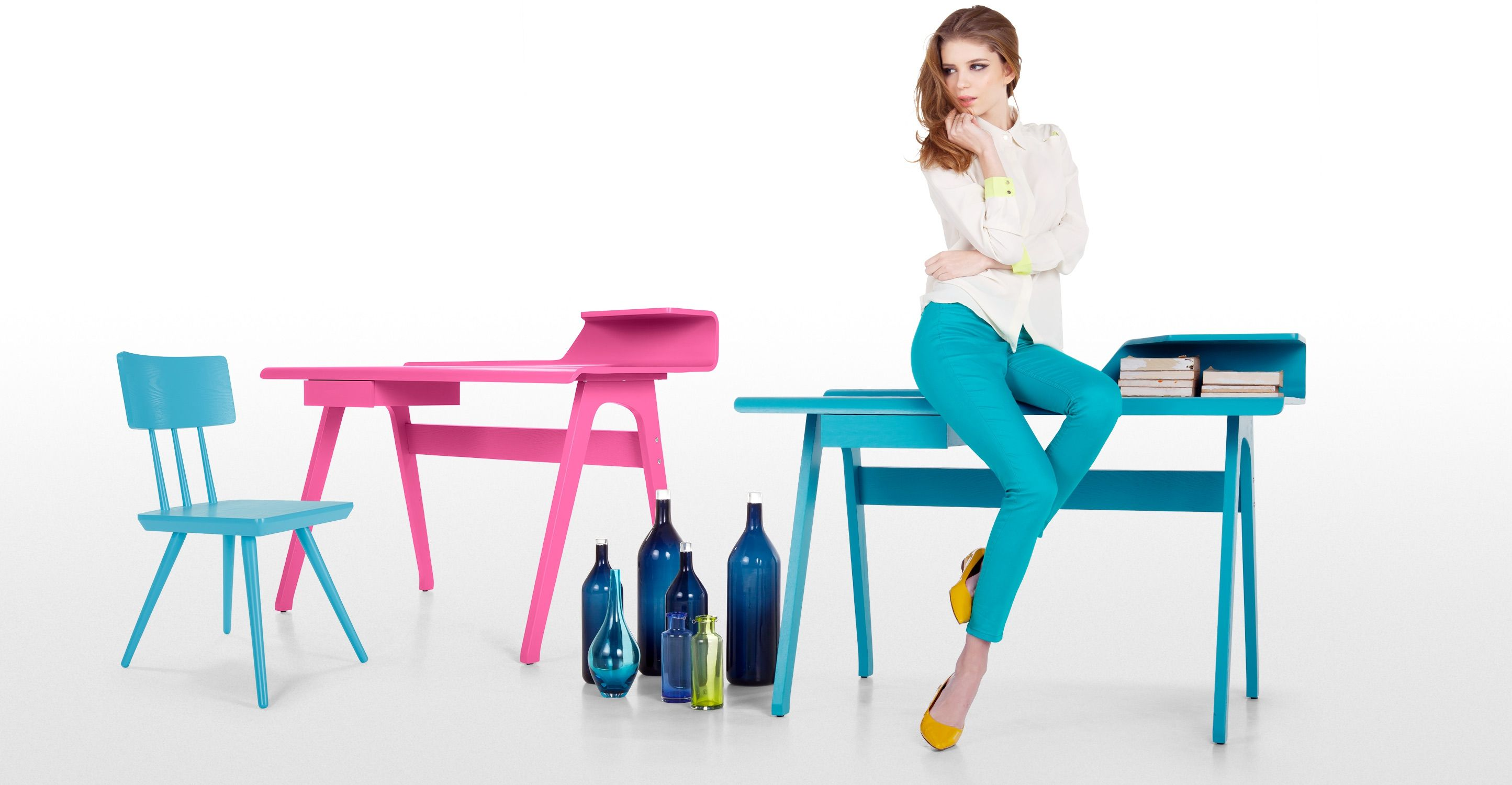 Cornell Robin Egg Blue Chair | Made.com