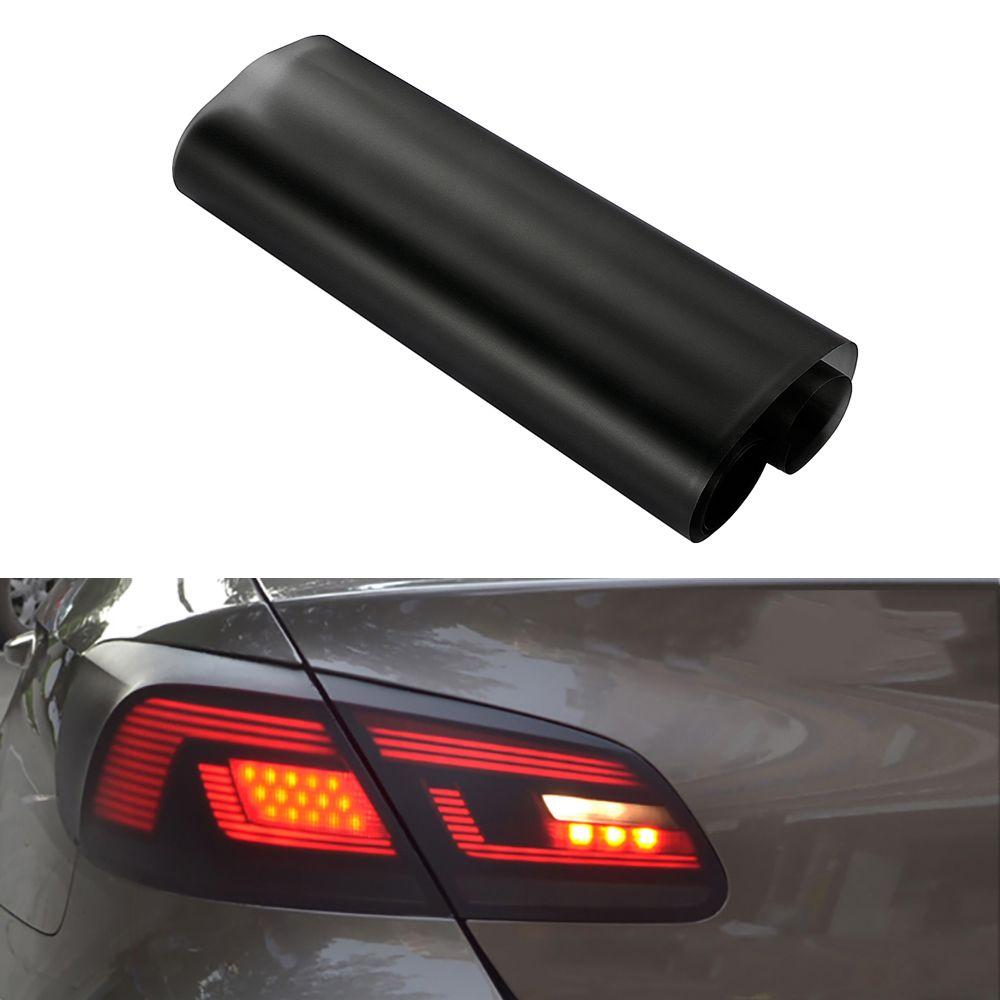 Auto Styling 30 150 Cm Matt Rook Licht Film Auto Matte Black Tint Koplamp Achterlicht Mistlamp Vinyl Film Rear Lamp Verv Light Film Tail Light Black Headlights
