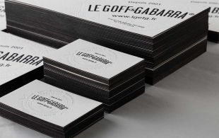 Our brand new cards! by Le Goff & Gabarra