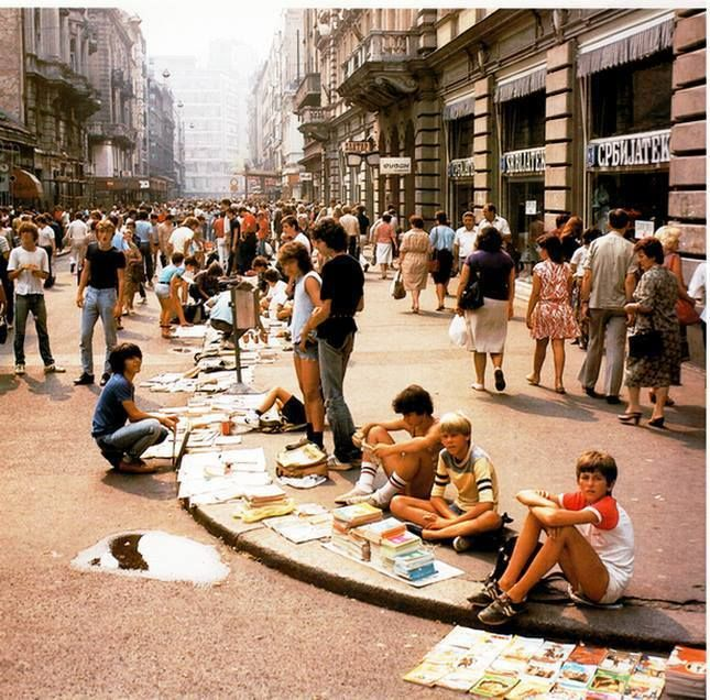 Beograd Osamdesete Belgrade Serbia Beograd Serbia