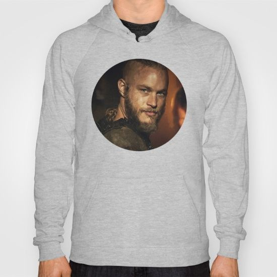 American Apparel Zip-up Hoodies and Pullover Hoodies come in a variety of colors and sizes.  Complete with kangaroo pocket this stretchy, comfortable fit, unisex cut includes double-stitched cuffs and hem. #TravisFimmel #Vikings #Ragnar