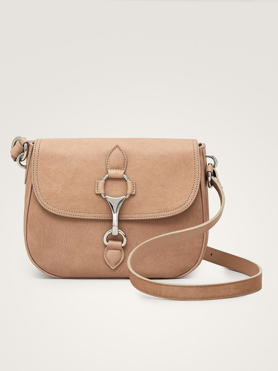 1c8896fc17c9f Lobster clasp leather crossbody bag in 2019