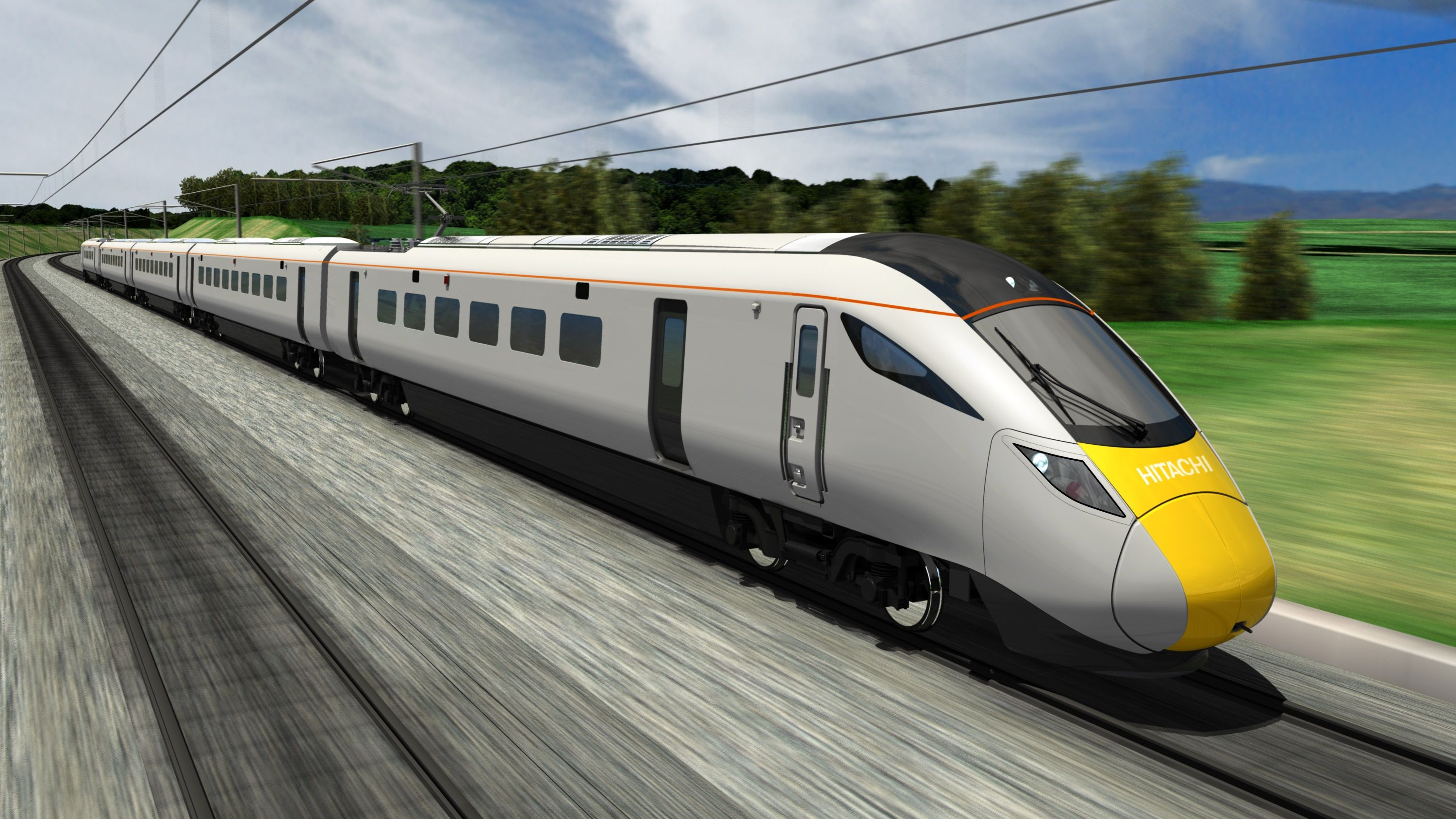 New Hitachi trains linking South West with London