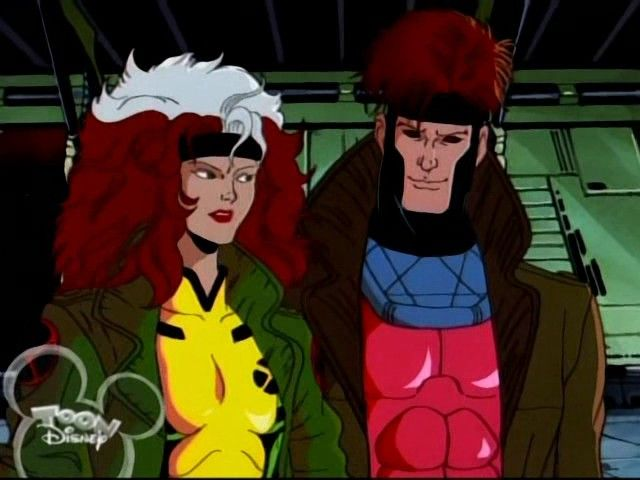 Image result for marvel comics 1990s tv show rogue & gambit