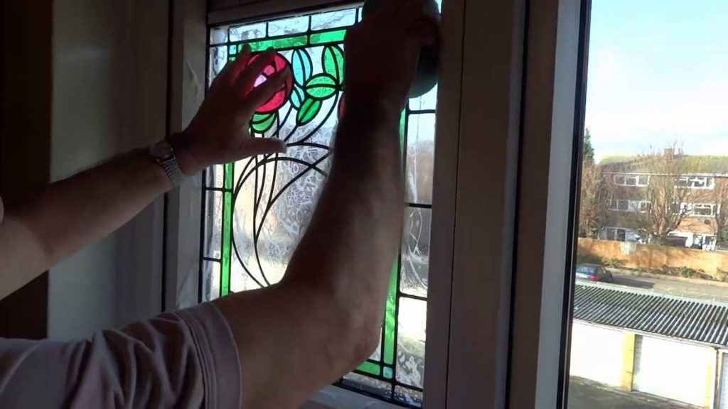 Stained Glass Transfers For Front Doors Glass Doors Pinterest
