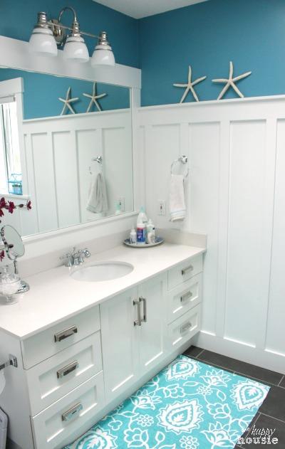 Our Paint Colours The Happy Housie Coastal Bathroom Design House Bathroom Coastal Style Bathroom