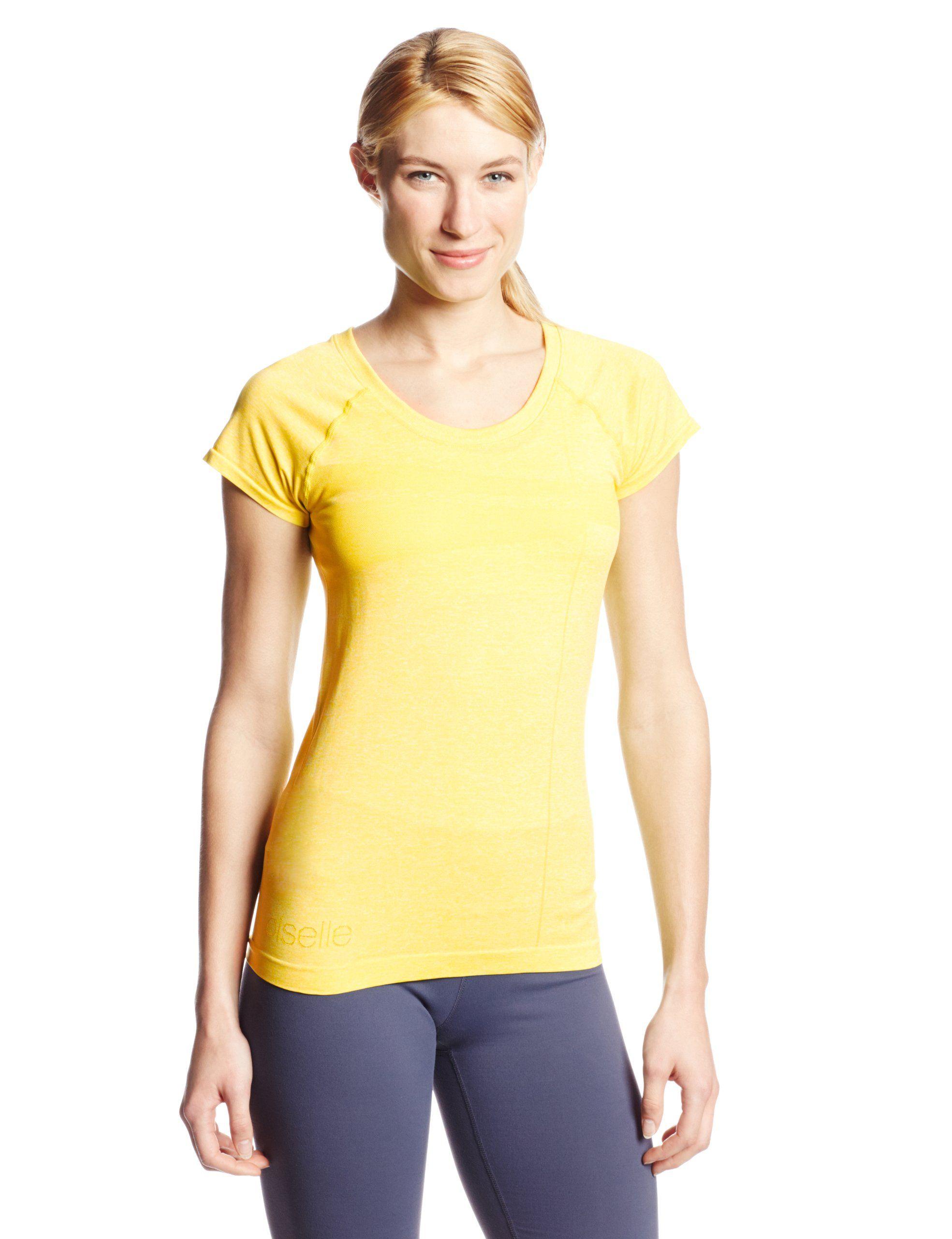 Oiselle Running Women's Flyte Short Sleeve Top, Fresh