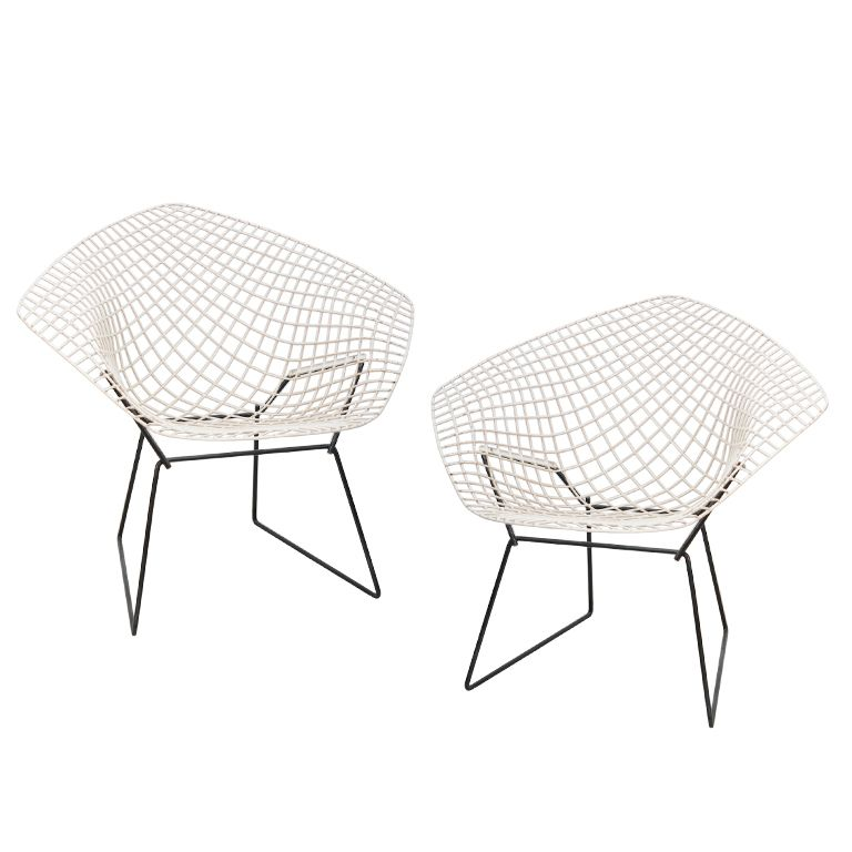 Awesome Harry Bertoia | Knoll, Pair Of Vintage Diamond Chairs | From A Unique  Collection Of Antique And Modern Lounge Chairs At  Http://www.1stdibs.com/furnu2026