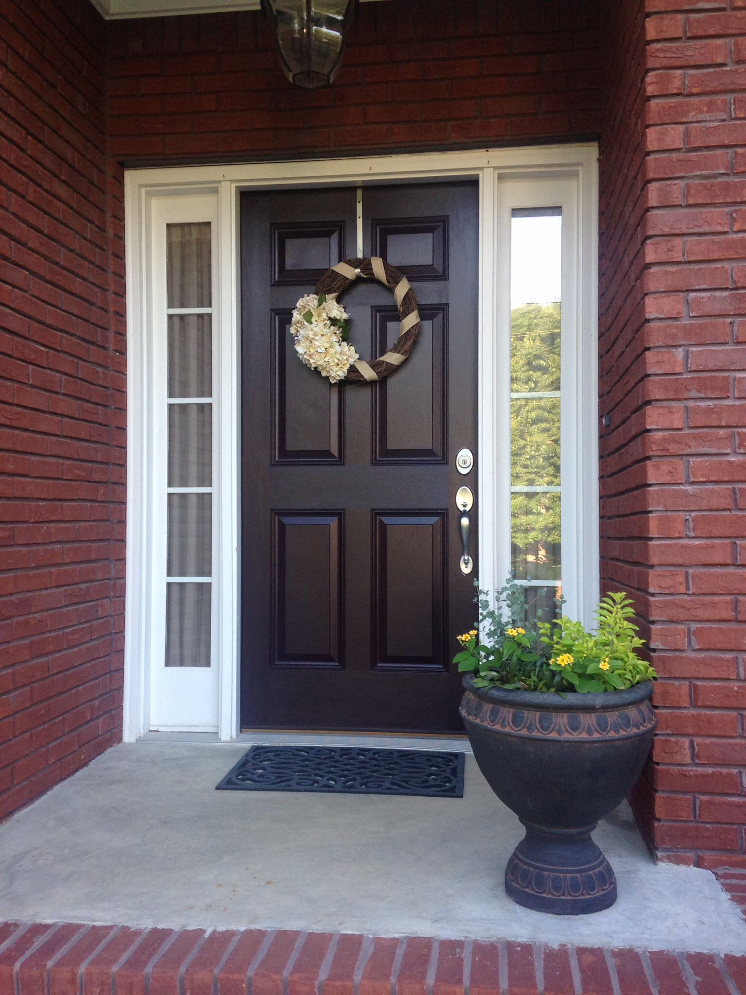 Awesome 5 Panel Entry Door